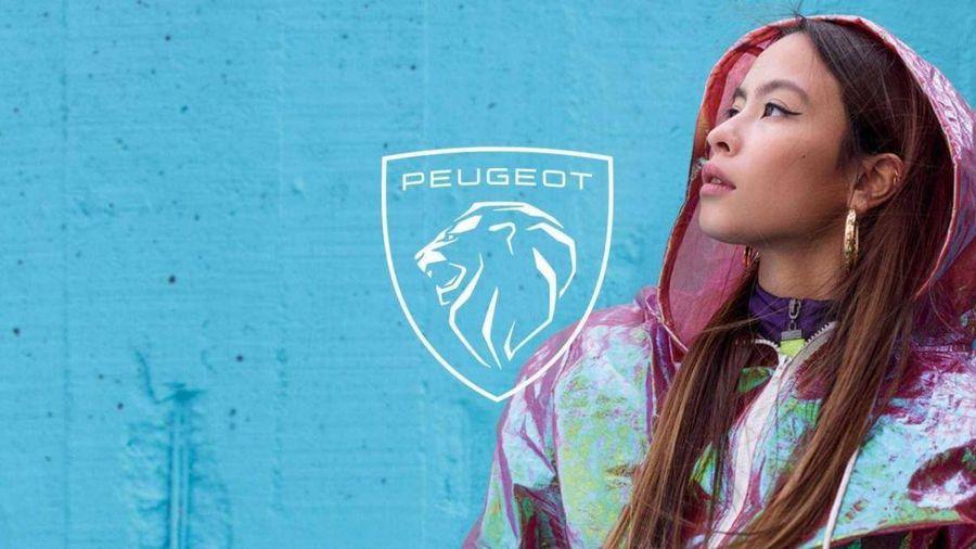 Peugeot lần thứ 11 đổi logo sư tử Pháp