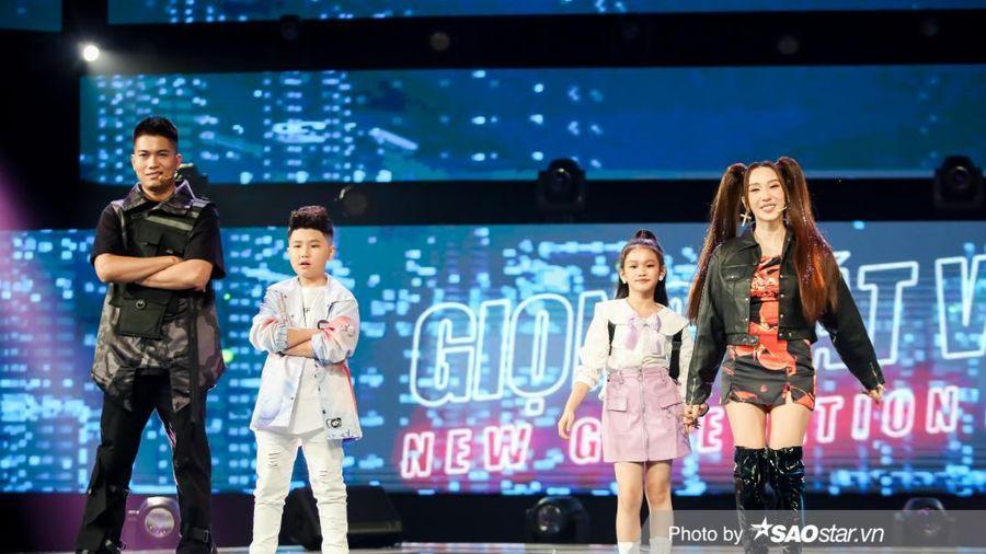 Tập 7 Giọng hát Việt nhí New Generation: BigDaddy - Emily có 'chiêu bài' khó lường ra sao?
