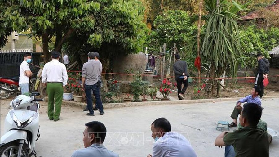 Nổ lớn, một người đàn ông bị thương nặng tại Điện Biên