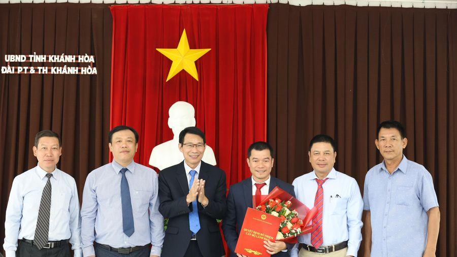 Ông Trần Minh Thảo giữ chức vụ Phó Giám đốc Đài Phát thanh và Truyền hình Khánh Hòa