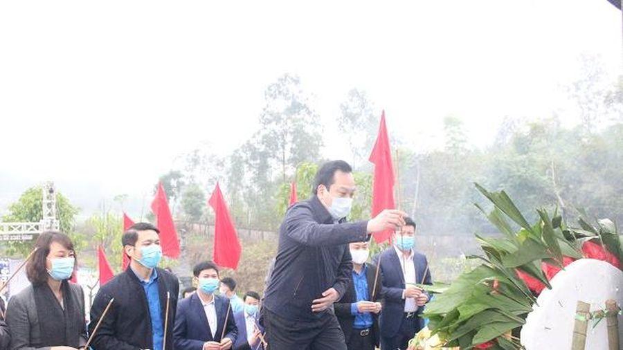Lễ phát động Tháng Thanh niên và Tết trồng cây 'Đời đời nhớ ơn Bác Hồ' năm 2021