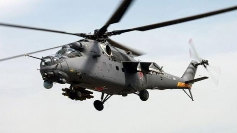 Trục trặc kỹ thuật, trực thăng Nga hạ cánh khẩn cấp ở Syria