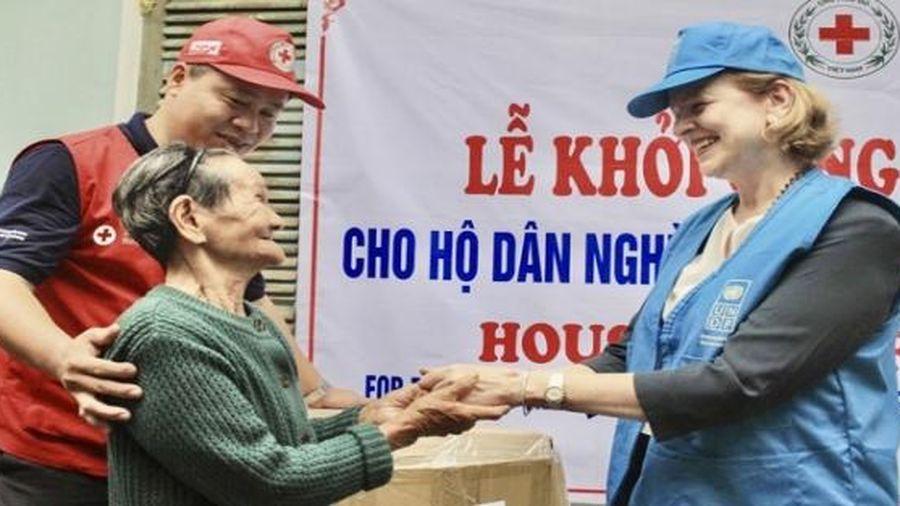 UNDP viện trợ 4 tỷ đồng khắc phục hậu quả thiên tai ở Quảng Ngãi