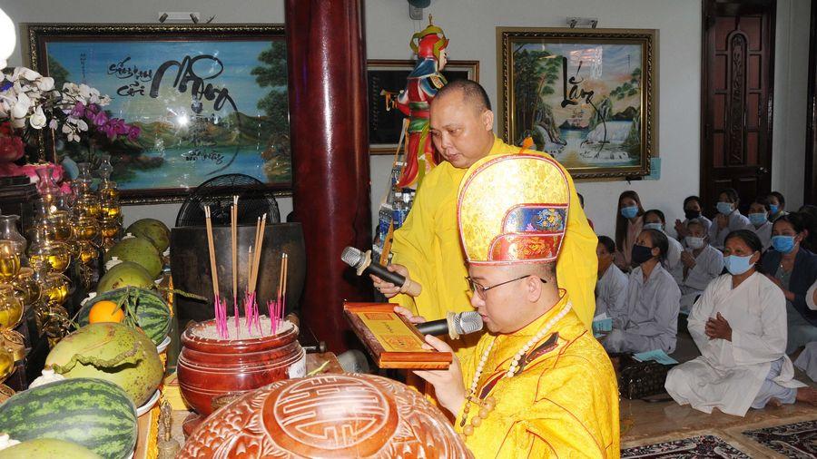 Quảng Nam: Chùa Linh Bửu trang nghiêm tổ chức đàn Dược Sư