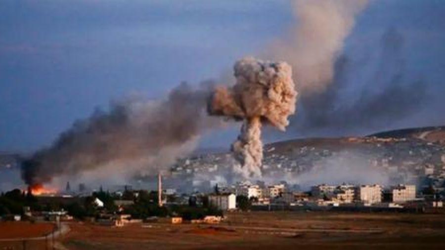 Israel nã tên lửa vào thủ đô Syria