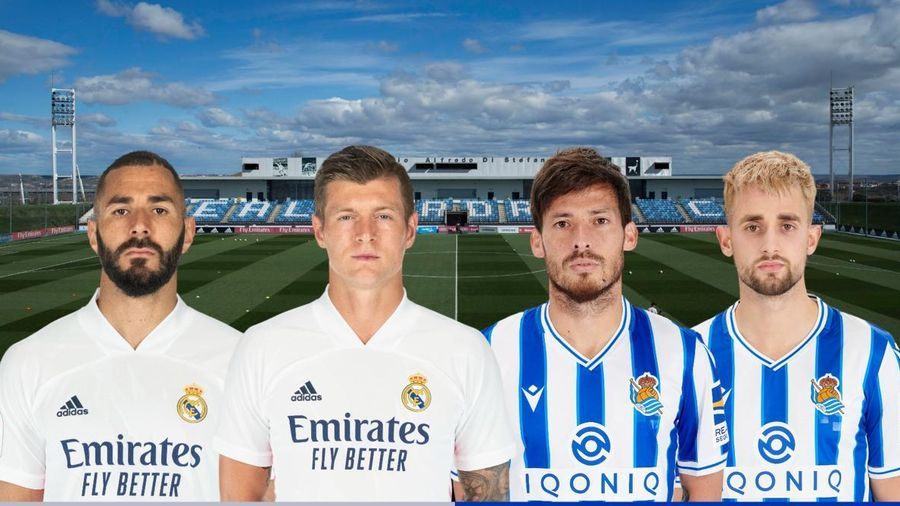 Dự đoán tỷ số, đội hình xuất phát trận Real Madrid - Sociedad