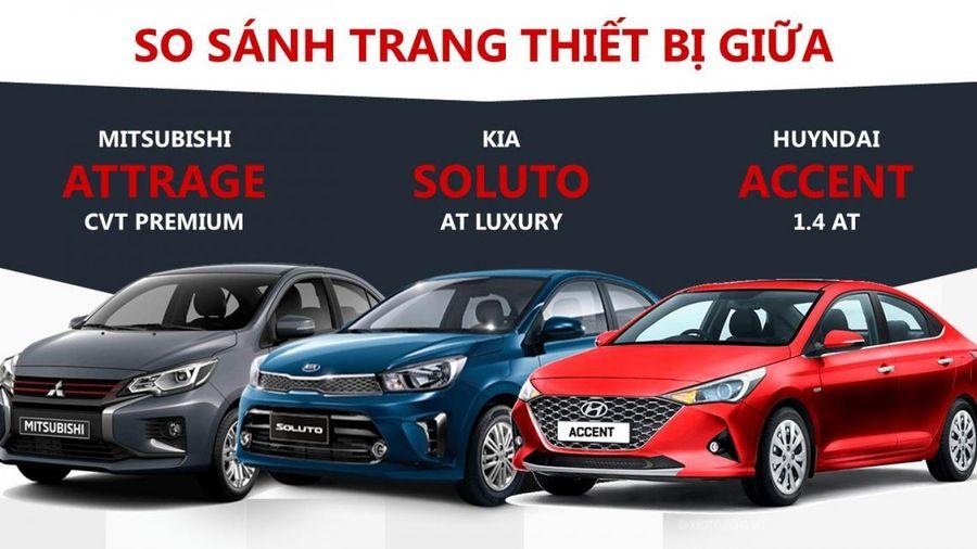 Dưới 500 triệu đồng lựa chọn sedan hạng B nào?