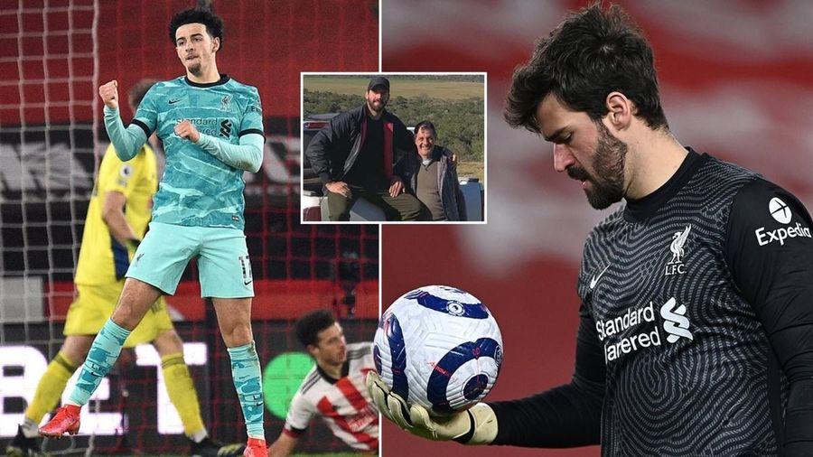 Sao trẻ Liverpool có hành động ấm áp với thủ môn Alisscon sau bi kịch gia đình