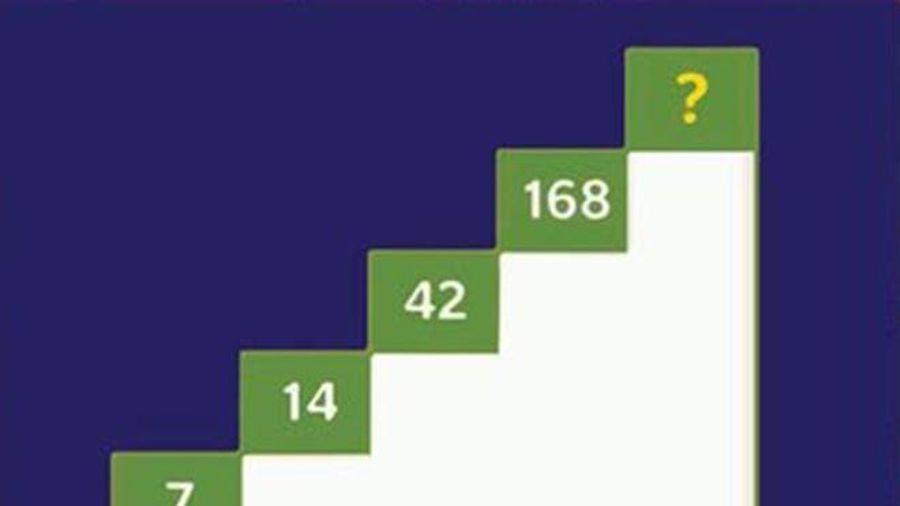 Đố bạn tìm được số còn thiếu trong dãy số này