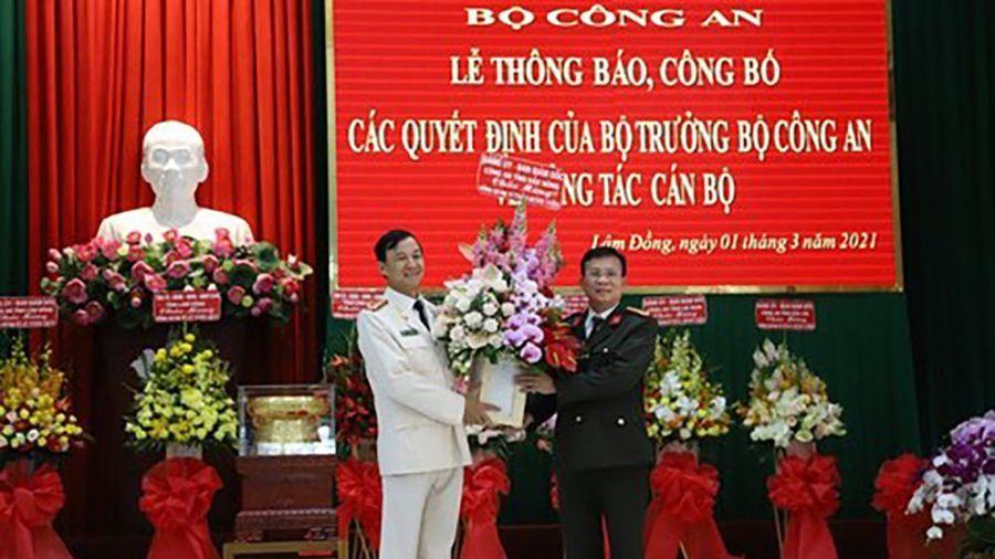 Lâm Đồng, Đắk Lắk có tân Giám đốc Công an