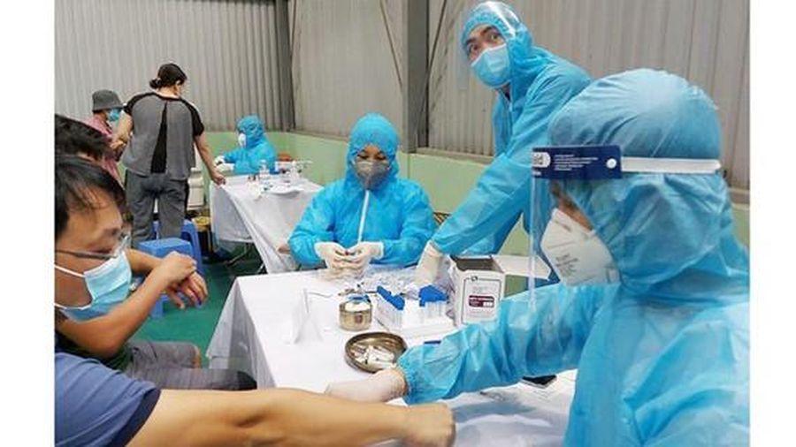 Xét nghiệm SARS-CoV-2 ngẫu nhiên các trường hợp có yếu tố nguy cơ