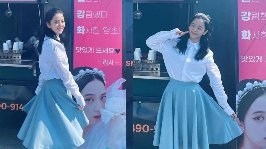 Netizen rần rần trước tạo hình của Jisoo trong 'Snowdrop', phim chắc chắn thành trend!