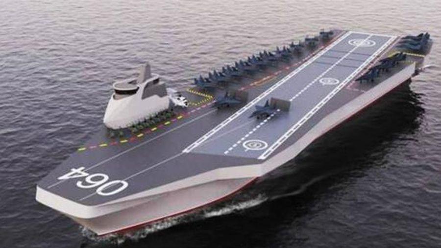 Tàu sân bay tương lai của Nga trang bị cả Su-57 và Okhotnik