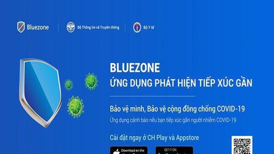 Được bổ sung nhiều tính năng mới, lượt tải ứng dụng Bluezone tăng mạnh