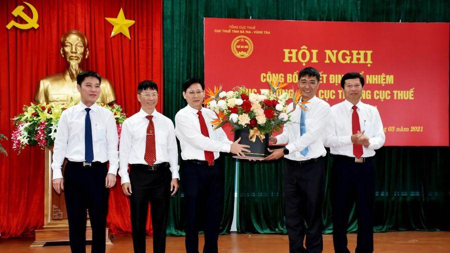 Lãnh đạo Cục thuế TP HCM làm Cục trưởng tại Bà Rịa-Vũng Tàu