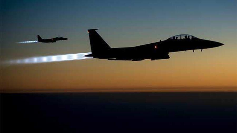 Mỹ nã 7 quả bom diệt một dân quân ở Syria