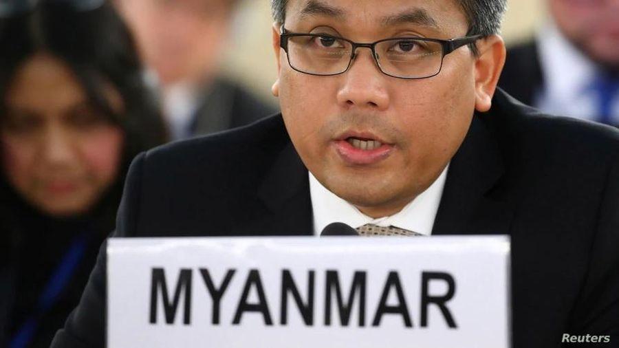 Liên Hợp Quốc vẫn thừa nhận vị đại sứ bị quân đội Myanmar sa thải