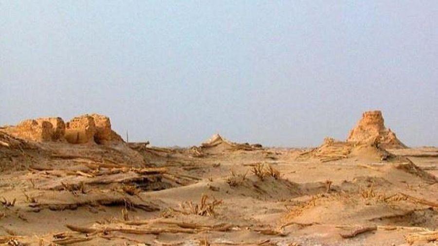 Những người giữ mộ trên sa mạc ở Trung Quốc