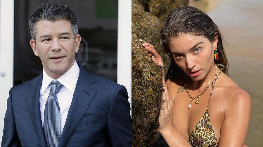 Người mẫu Victoria's Secret hẹn hò với cựu CEO Uber