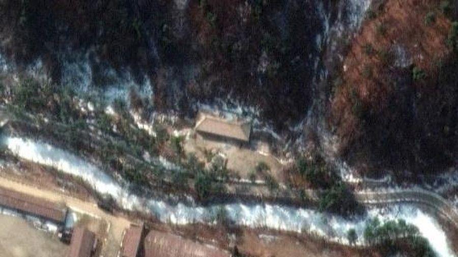Ảnh vệ tinh tiết lộ đường hầm bí mật của Triều Tiên