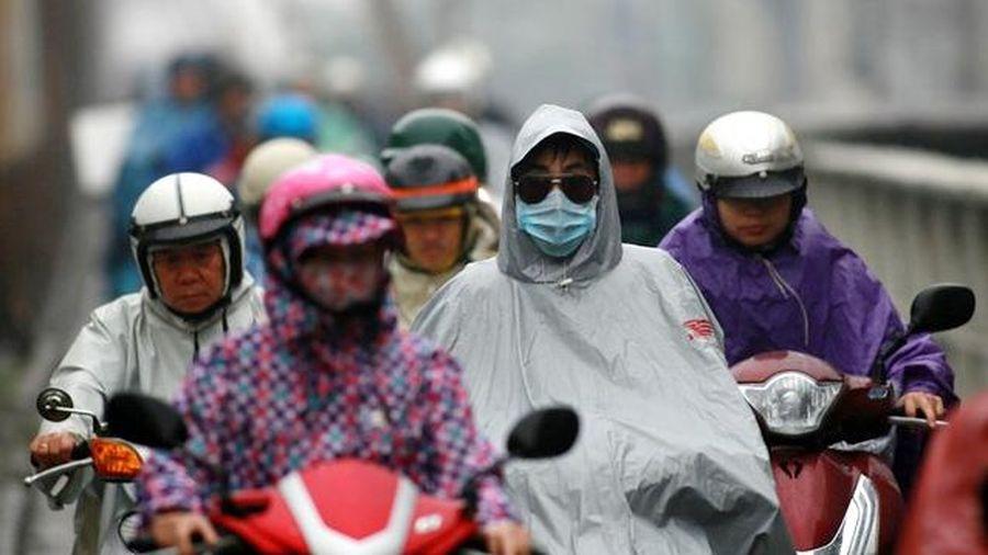 Thời tiết hôm nay 2/3: Không khí lạnh tràn về, Hà Nội có mưa vài nơi, trời rét