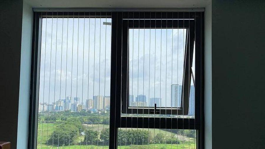 Thị trường lưới an toàn sôi động sau vụ trẻ rơi từ tầng 13 chung cư
