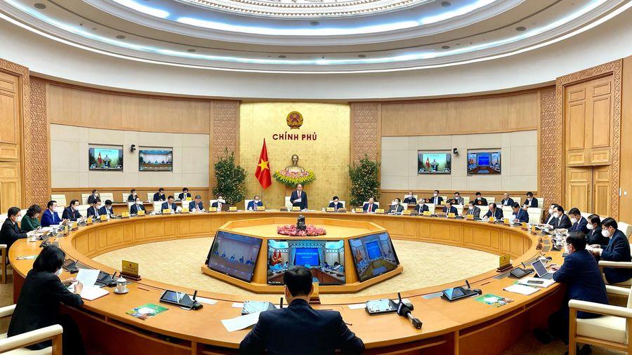 Thông cáo báo chí phiên họp Chính phủ thường kỳ tháng 02/2021