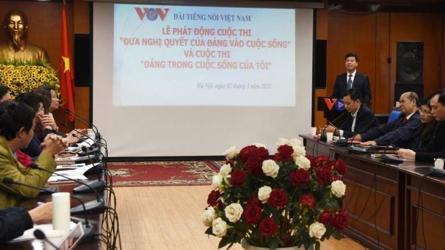 Phát động hai cuộc thi chào mừng thành công Đại hội XIII của Đảng