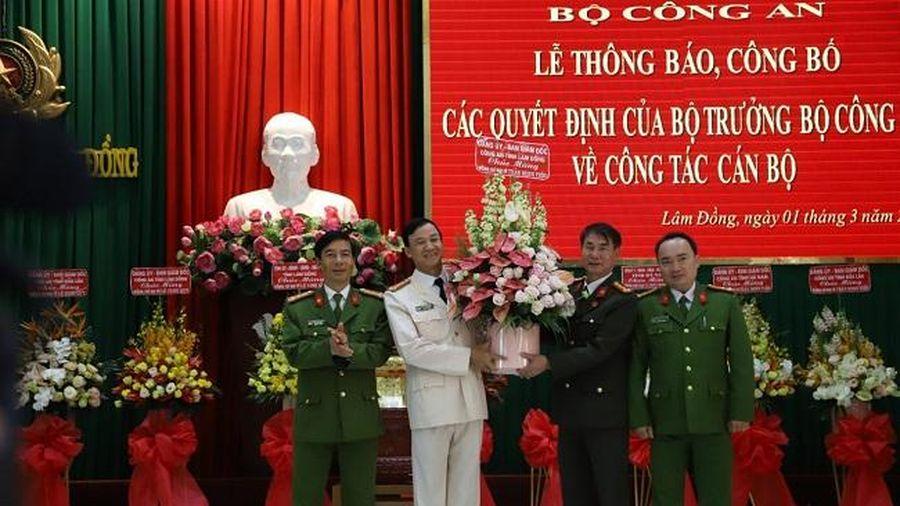Công an Lâm Đồng, Đắk Lắk có Giám đốc mới