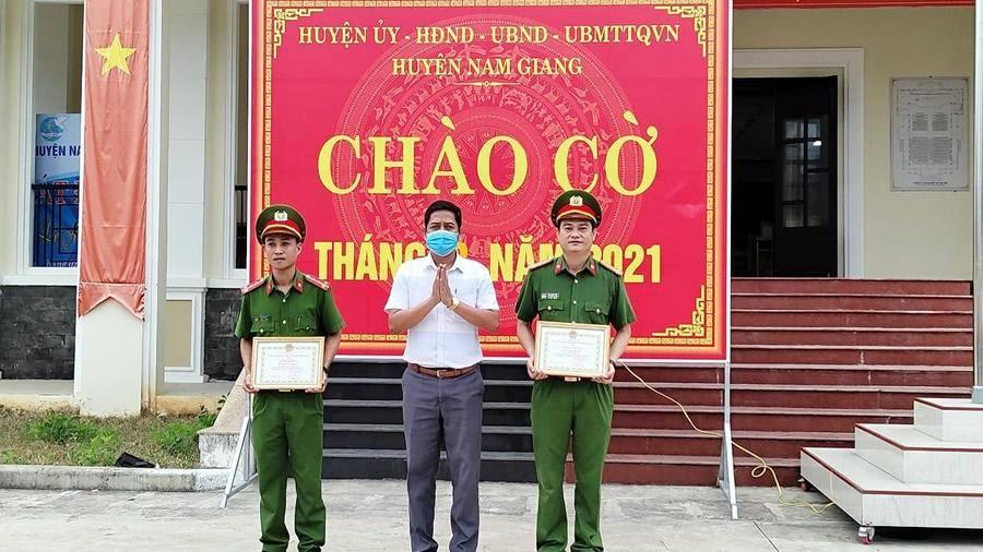 Vì bình yên vùng cao Nam Giang