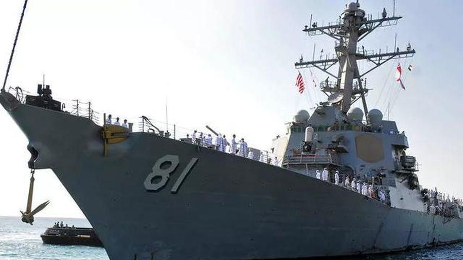 Tàu chiến Mỹ và Nga cập cảng Sudan