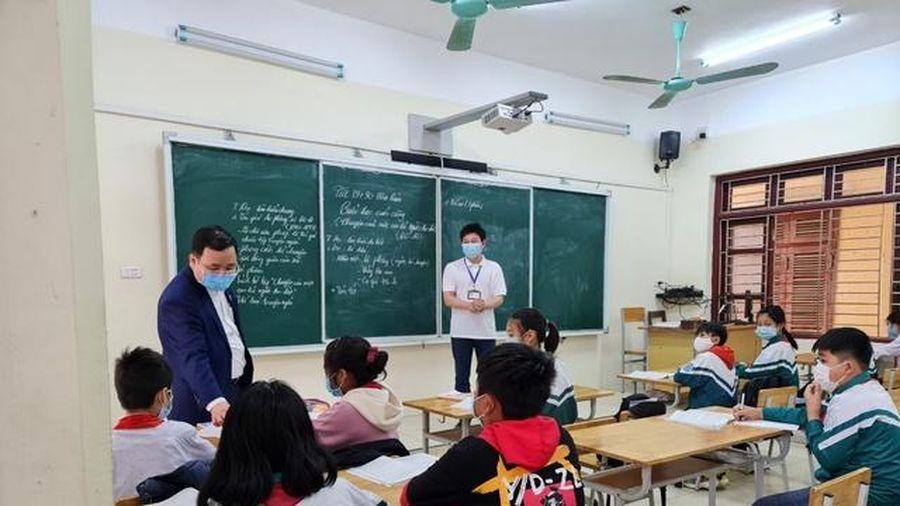Bắc Ninh: 95% học sinh các cấp đi học trở lại sau nghỉ dài phòng dịch