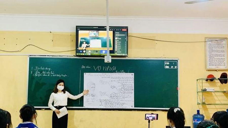 Bắc Giang thiết lập 3 phòng học chuyên dụng cho 99 học sinh cách ly tại nhà