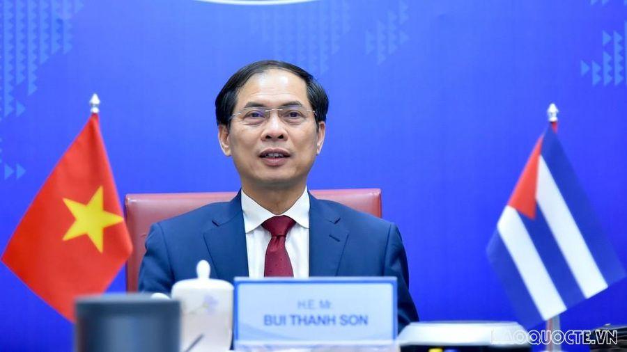 Việt Nam-Cuba tham khảo chính trị cấp Thứ trưởng Ngoại giao lần thứ VI