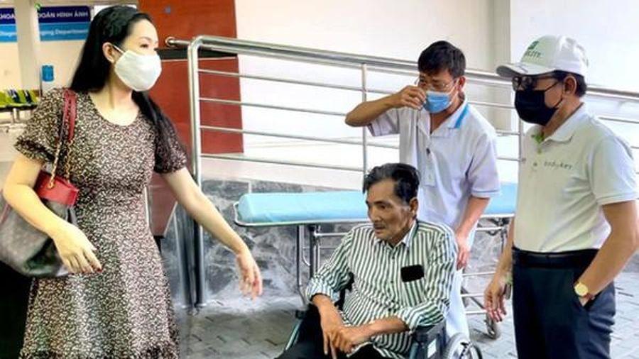 Diễn viên Trịnh Kim Chi ngừng nhận tiền hỗ trợ nghệ sĩ Thương Tín