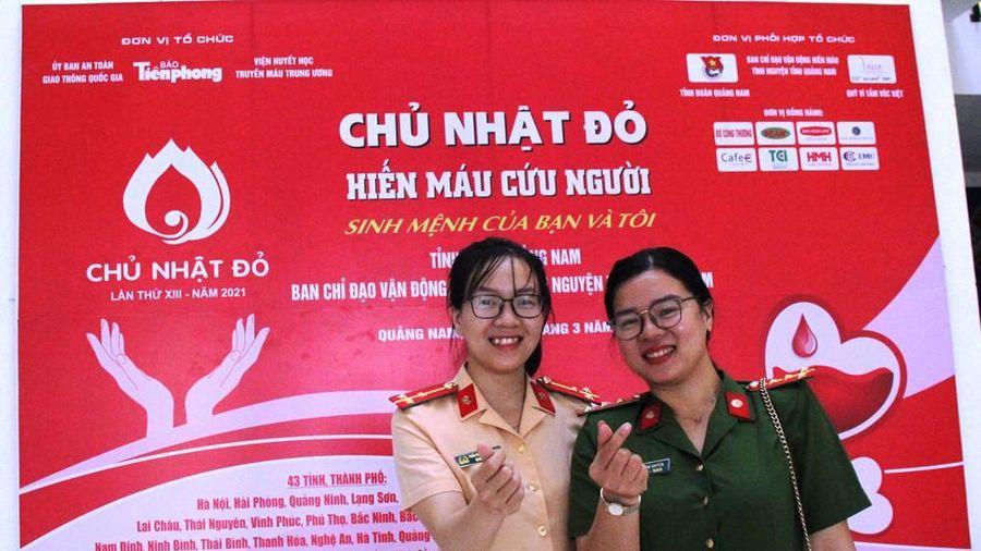 Chủ nhật Đỏ tại Quảng Nam: Những hình ảnh đẹp trong Ngày hội hiến máu cứu người
