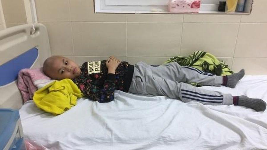 Không còn tiền, bố đau đớn nhìn con vật lộn với bệnh ung thư hiểm nghèo