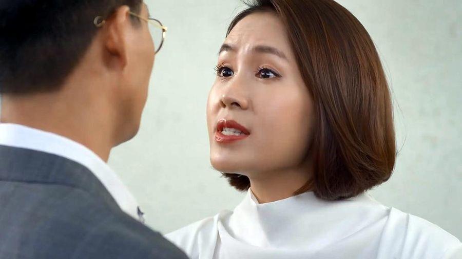 'Hướng dương ngược nắng' tập 35, Vỹ nhận thai của Châu là con mình