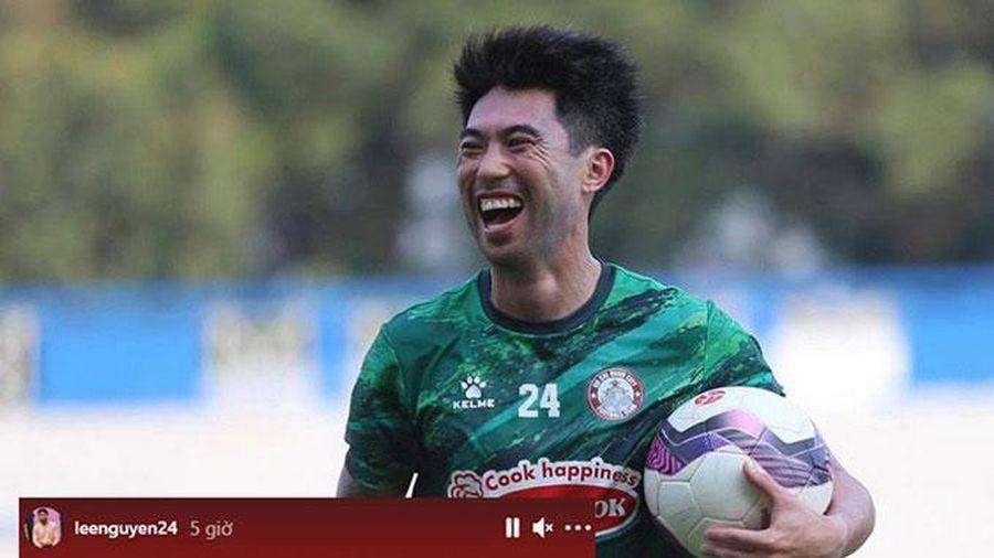 Lee Nguyễn gạt HAGL, tập trung tối đa khi đối đầu Hà Nội FC