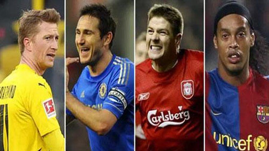 Top 20 tiền vệ ghi bàn nhiều nhất thế giới từ đầu thế kỷ 21