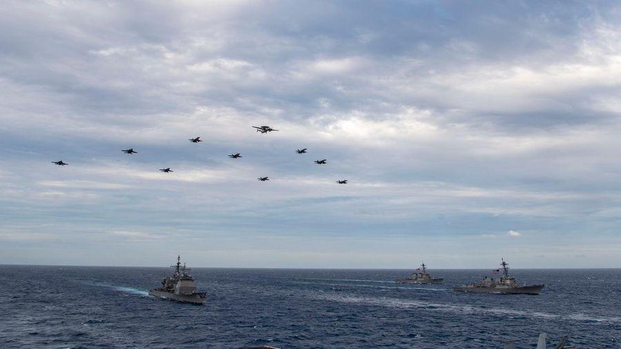 Quân đội Mỹ đang ráo riết hành động để kiềm chế Trung Quốc