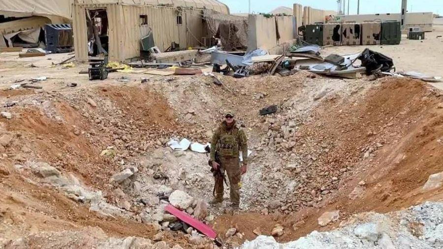 Lộ cảnh căn cứ quân sự của Mỹ sau khi bị Iran tấn công