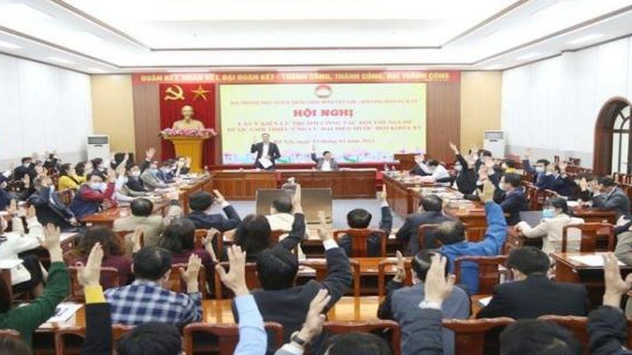 Cơ quan Ủy ban Trung ương Mặt trận Tổ quốc Việt Nam giới thiệu 2 nhân sự ứng cử đại biểu Quốc hội khóa XV