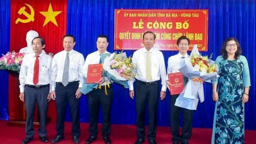 Bà Rịa - Vũng Tàu: Bổ nhiệm Giám đốc, Phó giám đốc Sở Tài chính