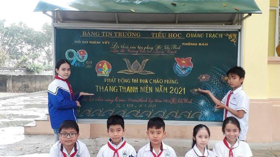 Nhiều hoạt động ý nghĩa của tuổi trẻ Quảng Xương trong Tháng Thanh niên