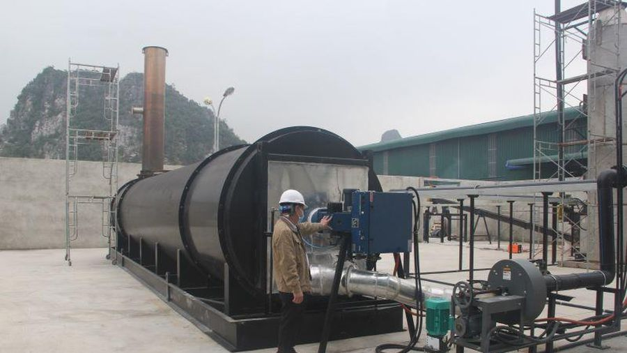 Cận cảnh nhà máy xử lý rác thải hiện đại tại Nghi Sơn