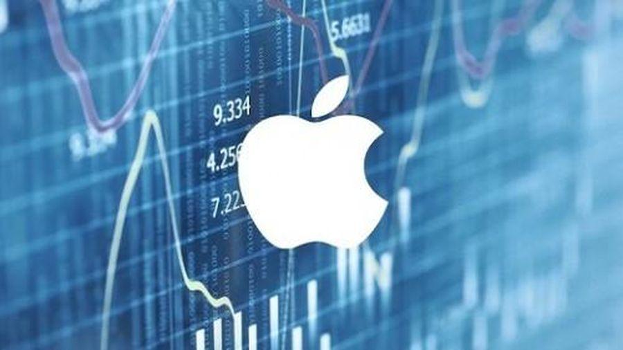 Cổ phiếu của Apple bất ngờ tăng hơn 5% lên mức giá 127,8 USD