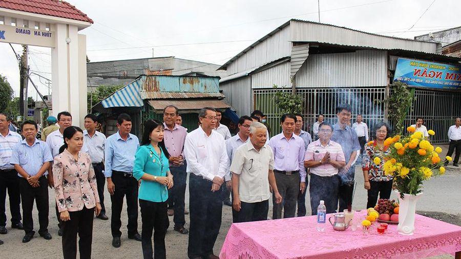 An Giang: Khởi công xây dựng cầu Ba Dầu