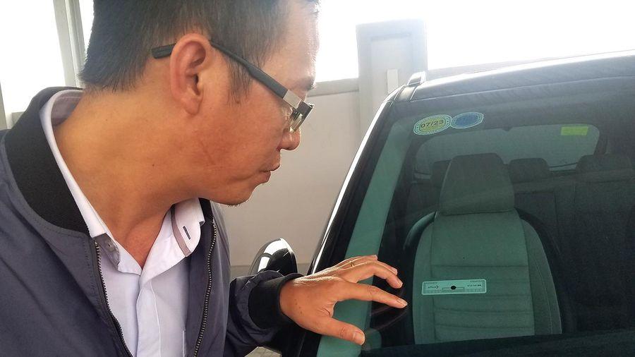 Tăng vọt số lượng xe ô tô gắn thẻ trả phí tự động
