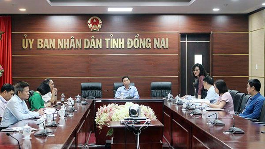 Thống nhất hồ sơ vay vốn Quỹ Bảo vệ môi trường của Sonadezi Long Thành
